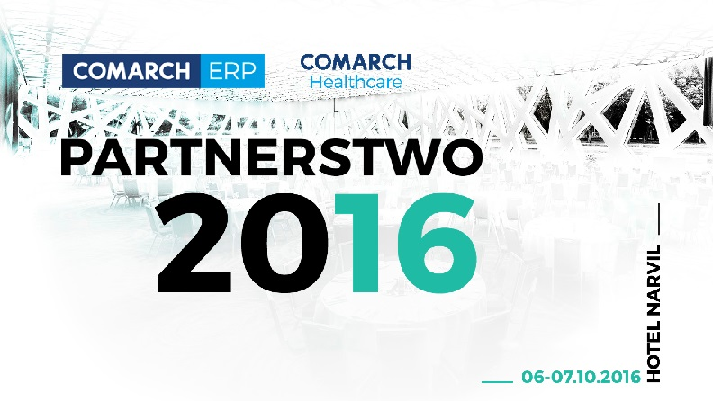 Partnerstwo 2016 Comarch Healthcare i Comarch ERP